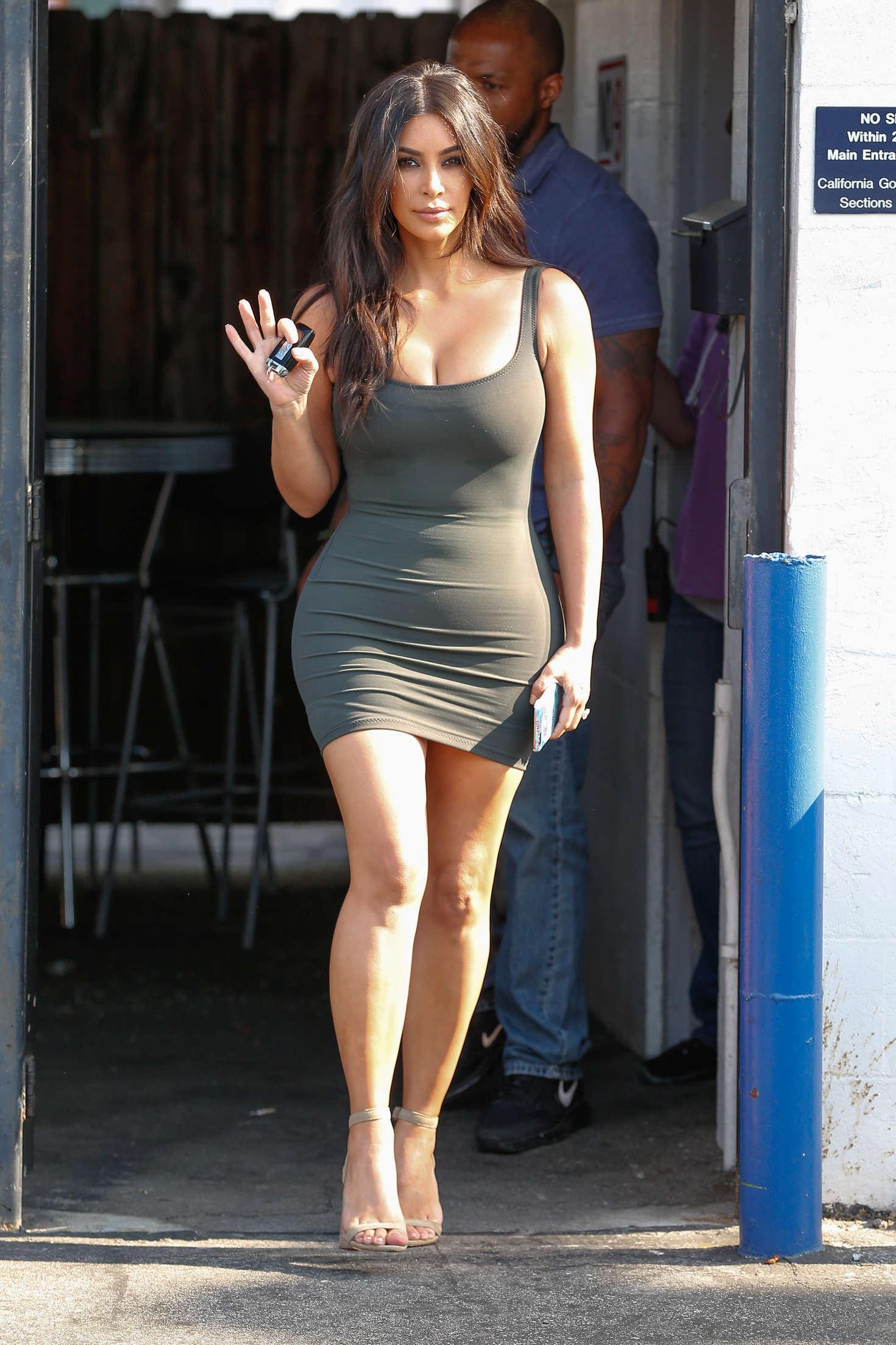 Kim Kardashian In Tight Short Dress 11 GotCeleb