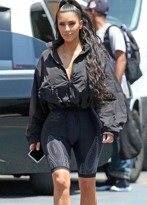 Kim Kardashian - Leaves the Saved By The Max in West Hollywood