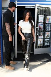 Kim Kardashian - Leaving a theatre in West Hollywood