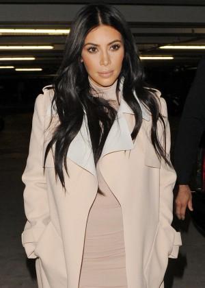Kim Kardashian - Leaving her hotel in London