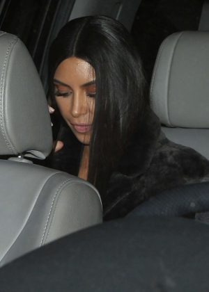 Kim Kardashian Leaving Milk Studios in Hollywood