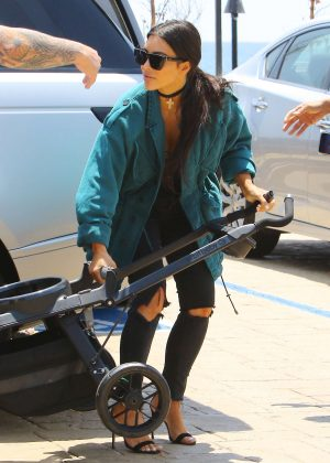 Kim Kardashian Leaving Nobu in Malibu
