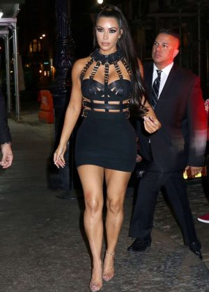 Kim Kardashian - Met Gala Afterparty in New York City