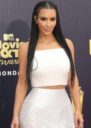 Kim Kardashian - MTV Movie and TV Awards 2018 in Santa Monica
