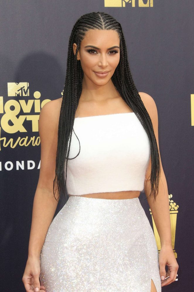 Kim Kardashian - MTV Movie and TV Awards 2018 in Santa Monica