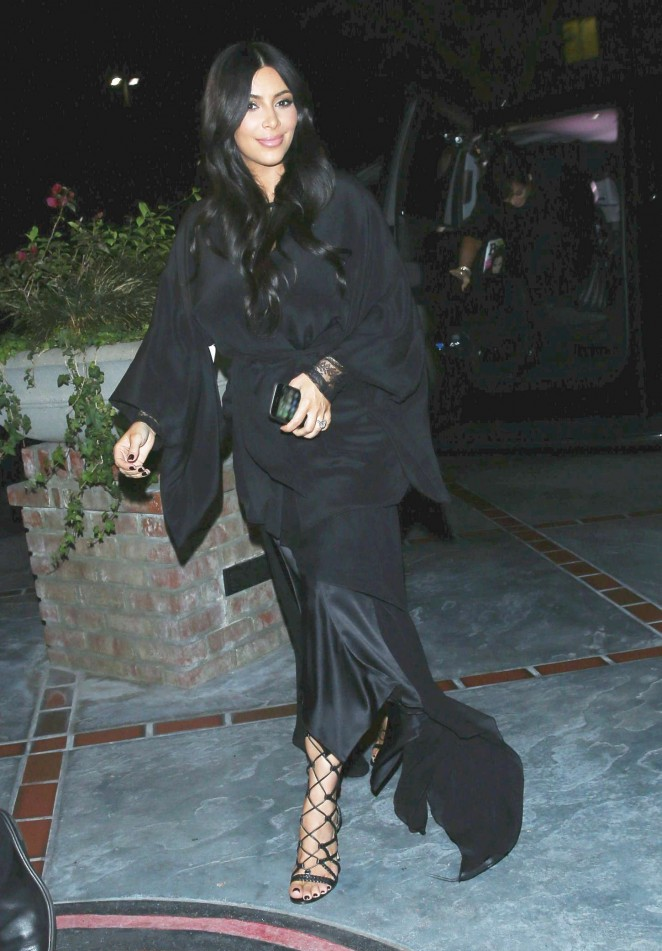 Kim Kardashian - Night Out in LA