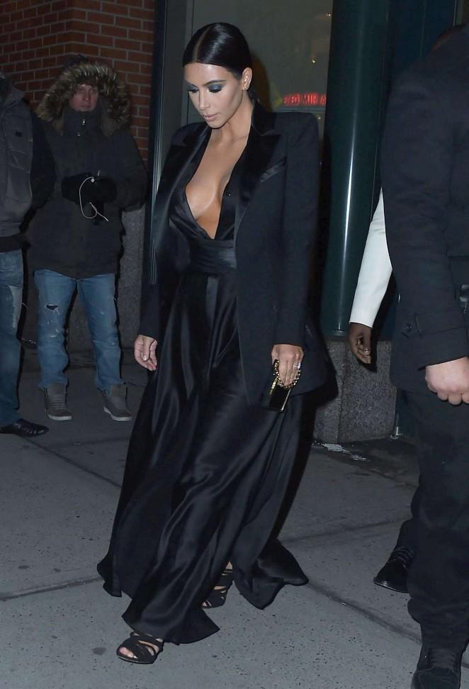 Kim Kardashian Night Out in New York City