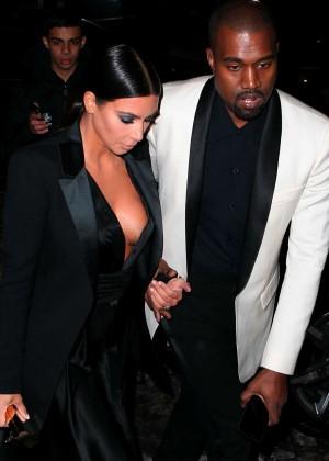 Kim Kardashian in Black Dress -13