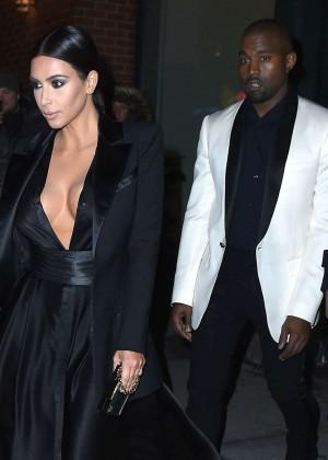 Kim Kardashian in Black Dress -18