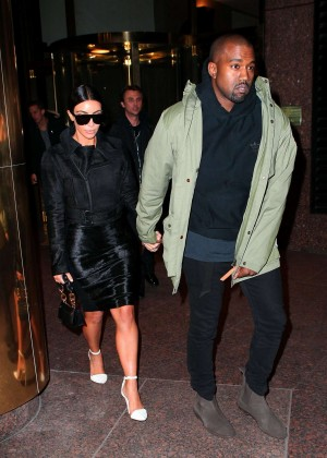 Kim Kardashian in Black Dress -31