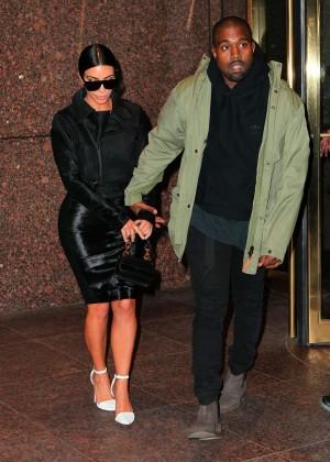 Kim Kardashian in Black Dress -33
