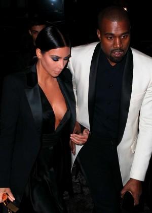 Kim Kardashian in Black Dress -38
