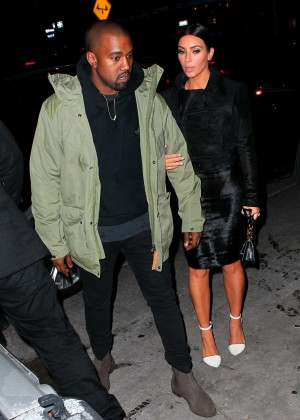 Kim Kardashian in Black Dress -42