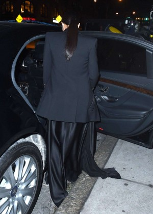 Kim Kardashian in Black Dress -72