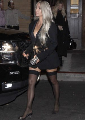 Kim Kardashian night out in San Francisco