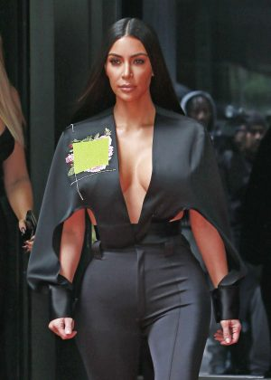 Kim Kardashian on NBC Universal Upfronts in New York City