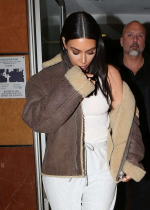 Kim Kardashian - Out and about in LA
