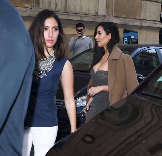 Kim Kardashian in Tight Dress -11