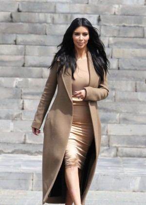 Kim Kardashian - Out and about in Yerevan