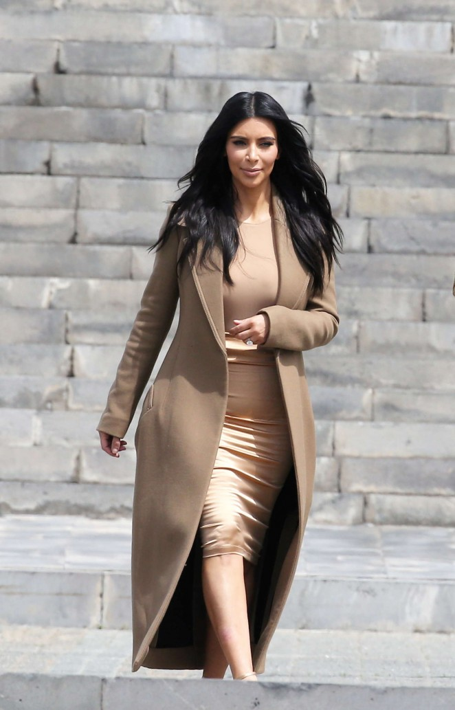 Kim Kardashian – Out and about in Yerevan