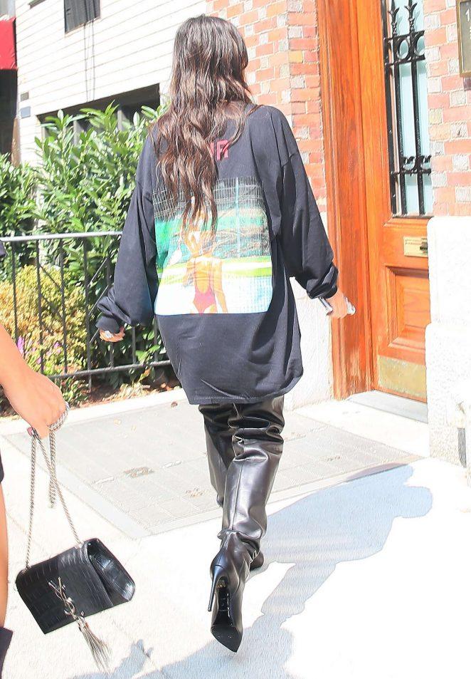 Kim Kardashian 2016 : Kim Kardashian: Out for lunch in NYC -08