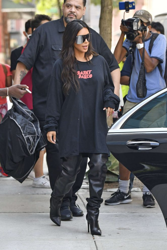 Kim Kardashian 2016 : Kim Kardashian: Out for lunch in NYC -09