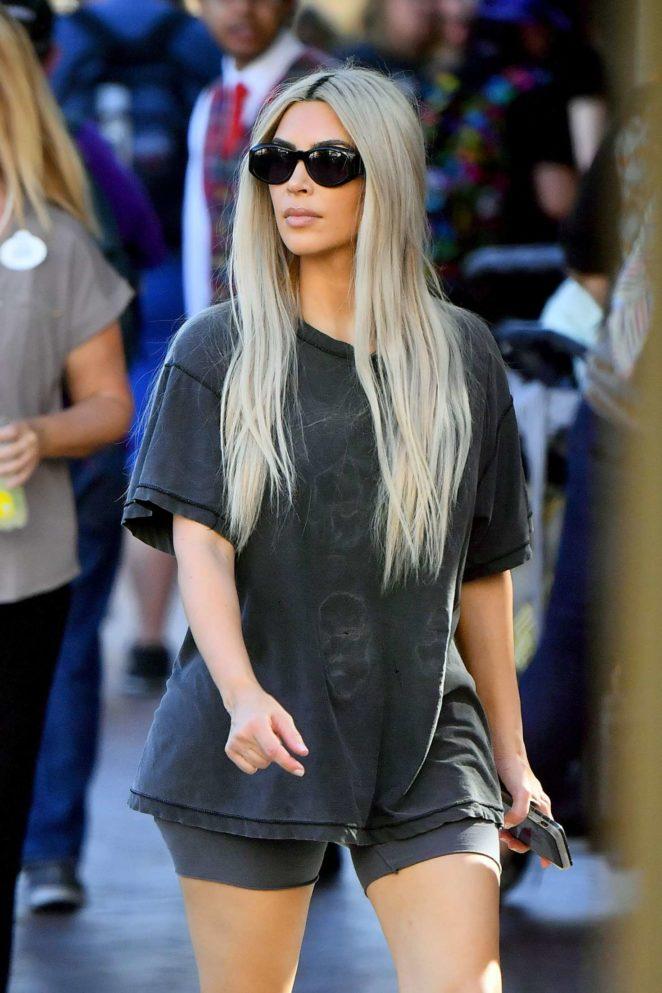 Kim Kardashian out in Anaheim