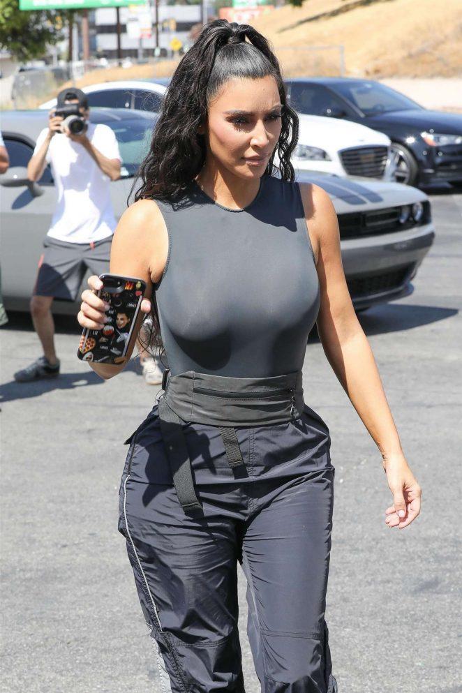 Kim Kardashian - Out in Los Angeles