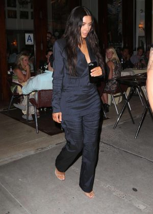 Kim Kardashian out in New York City