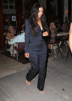 Kim Kardashian out in New York City