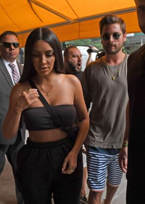 Kim Kardashian - Out in New York