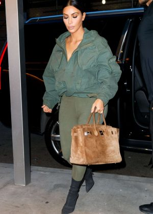 Kim Kardashian - Out in NY