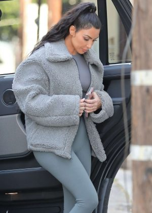 Kim Kardashian - Out in West Hollywood