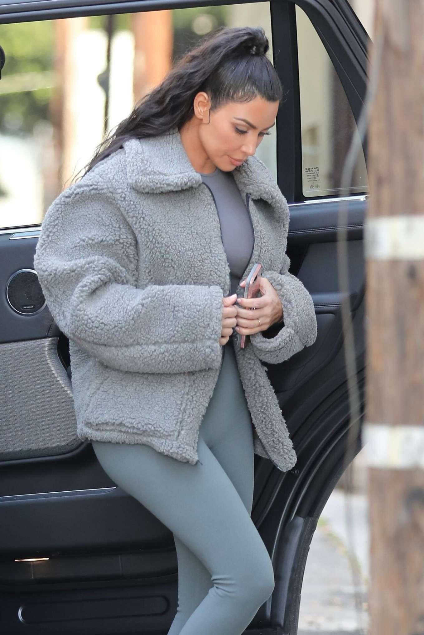 Kim Kardashian - Out in West Hollywood