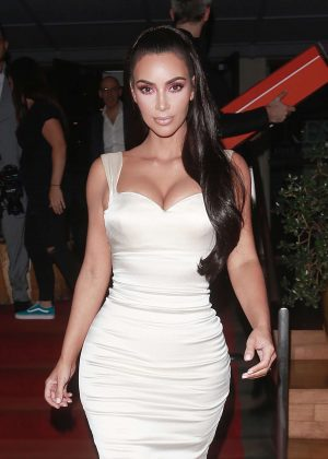 Kim Kardashian - Out of an event at the SLS Hotel in Los Angeles