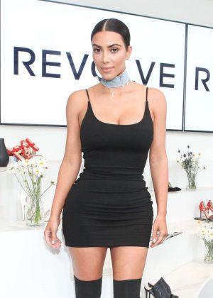 Kim Kardashian - Revolve Social Club Event in West Hollywood