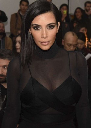 Kim Kardashian - Robert Geller Fashion Show 2015 in NYC