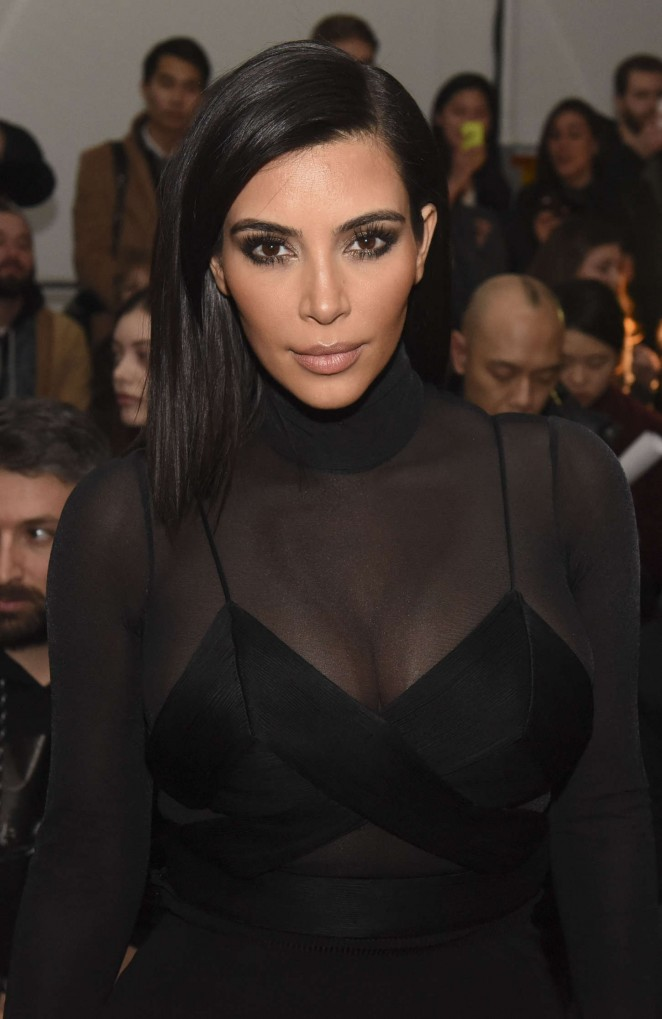 Kim Kardashian – Robert Geller Fashion Show in NYC