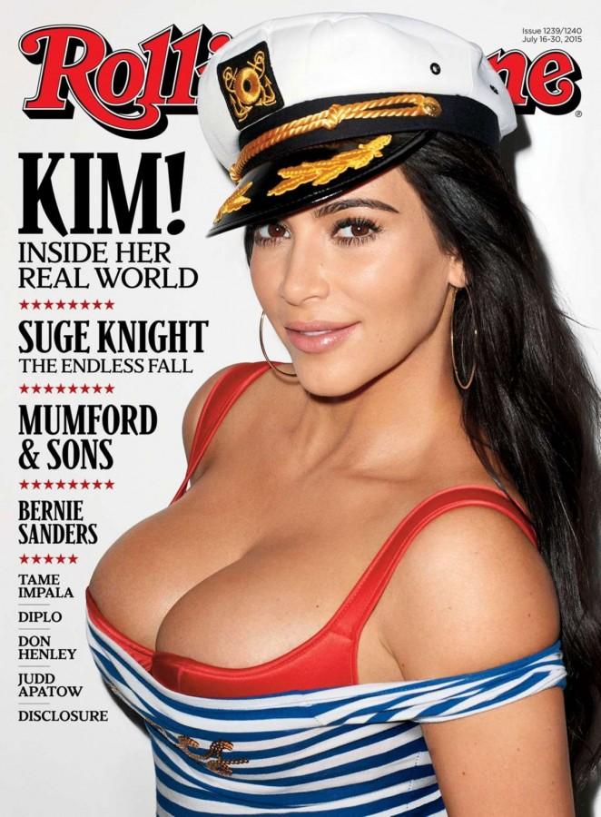 Kim Kardashian - Rolling Stone Cover Magazine (July 2015)