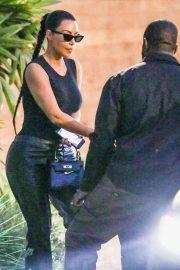 Kim Kardashian - Seen at Cafe Habana in Malibu