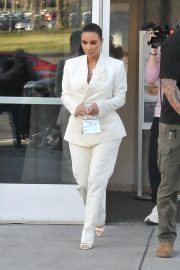 Kim Kardashian - Seen at Palmer restaurant in Washington DC