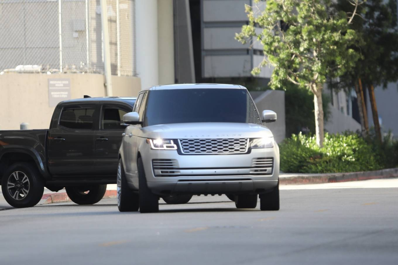 Kim Kardashian 2020 : Kim Kardashian – Seen leaving Cedars-Sinai hospital in Los Angeles-04
