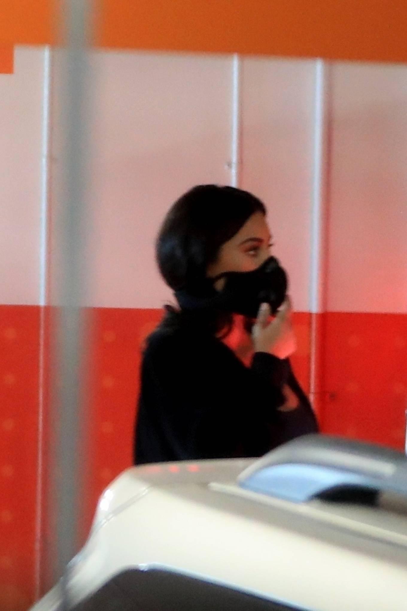 Kim Kardashian 2020 : Kim Kardashian – Seen leaving Cedars-Sinai hospital in Los Angeles-05