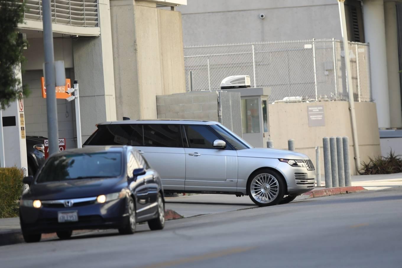 Kim Kardashian 2020 : Kim Kardashian – Seen leaving Cedars-Sinai hospital in Los Angeles-14