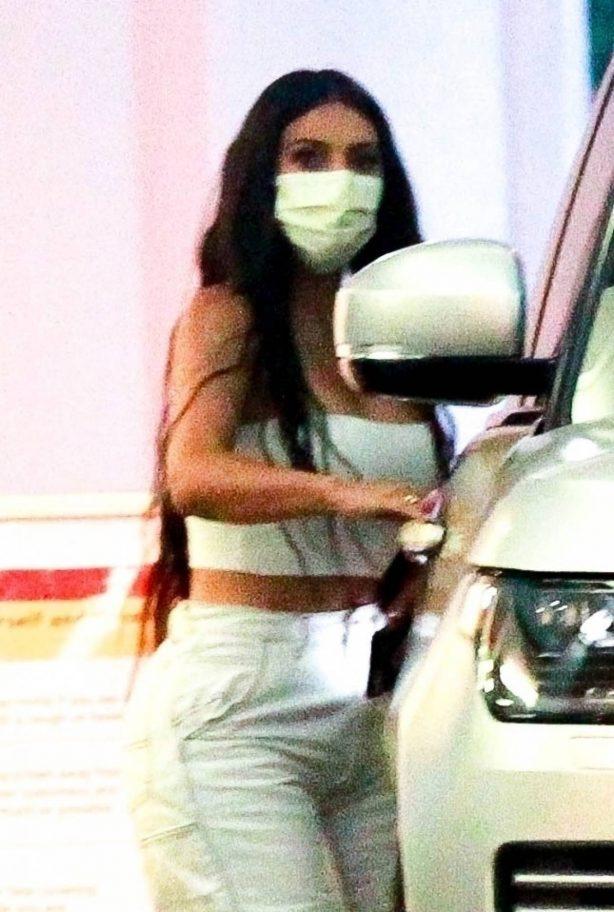 Kim Kardashian - Seen leaving her dermatologist in Beverly Hills
