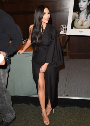 Kim Kardashian - 'Selfish' Book Signing in LA
