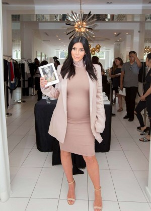 Kim Kardashian - Signs 'Selfish' Book at Dash Store in LA