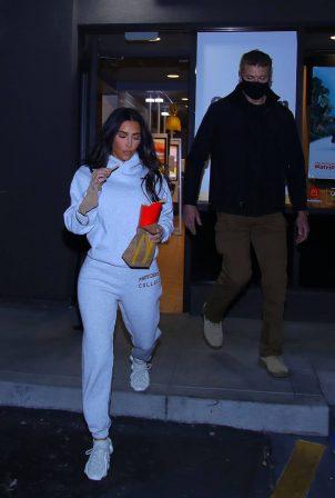Kim Kardashian - Spotted at McDonalds in Calabasas