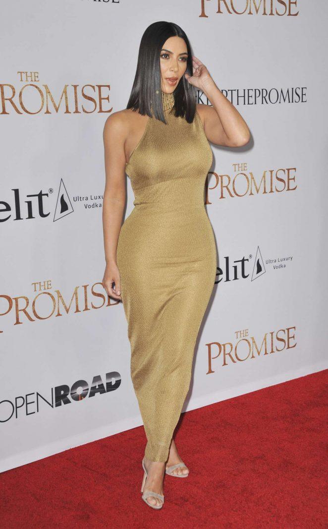 Kim Kardashian: The Promise Premiere -01