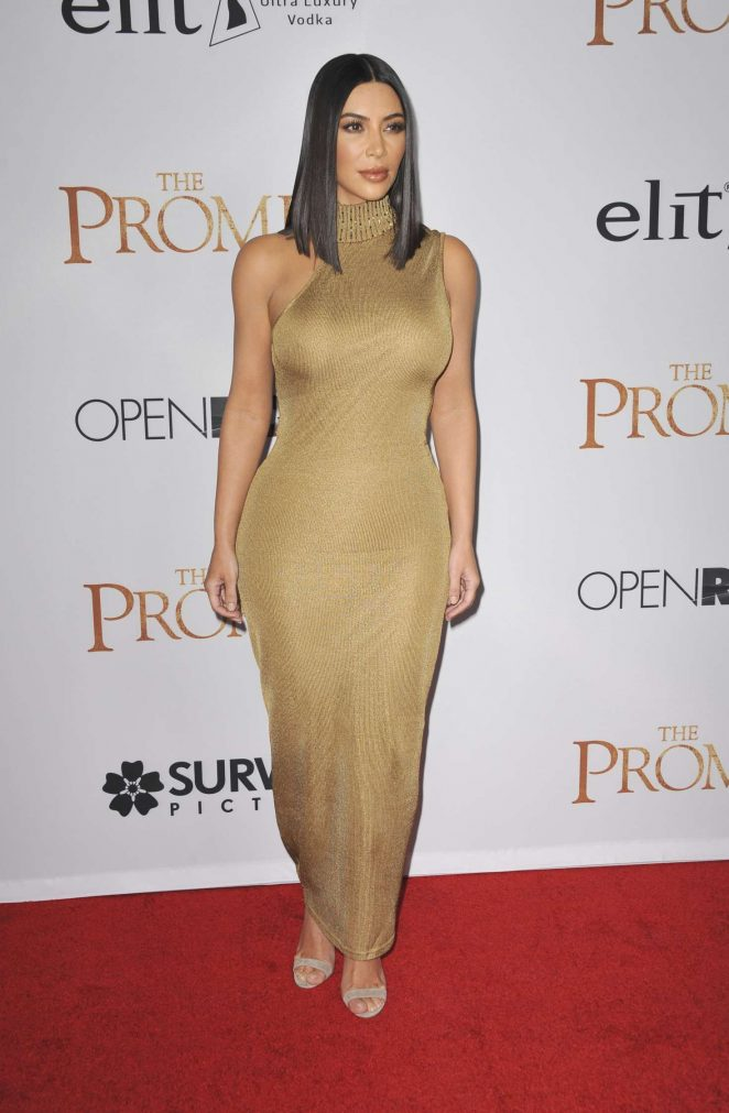 Kim Kardashian: The Promise Premiere -10